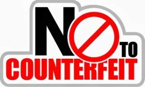 no counterfeit logo [Converted]